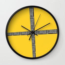 Mellow Yellow! Wall Clock