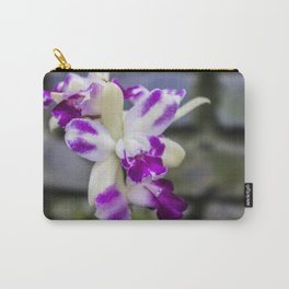 purple & white flowers • nature photography Carry-All Pouch
