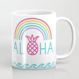 Aloha Rainbow Coffee Mug