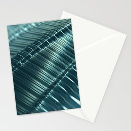 Metal Techno Surface Stationery Cards