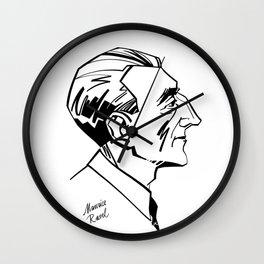 Maurice Ravel Wall Clock