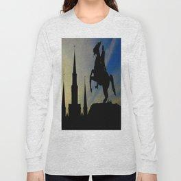 Landmark Silhouettes in Casa de Armas Long Sleeve T-shirt