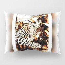 Big Cat Companions: Cougar & Leopard 01 Pillow Sham