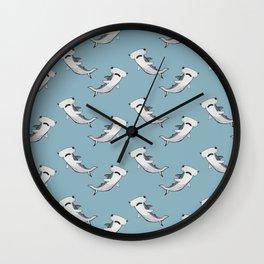 Hammer Shark Wall Clock