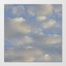 Cloudy Days Canvas Print