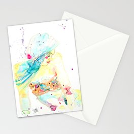 Jewel Fish Stationery Cards