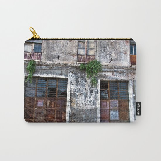 Old Sicilian facade of Taormina Carry-All Pouch