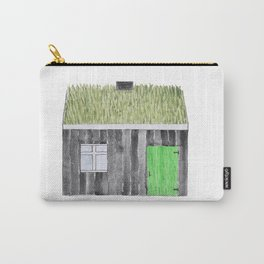 Traditional Faroese House Carry-All Pouch