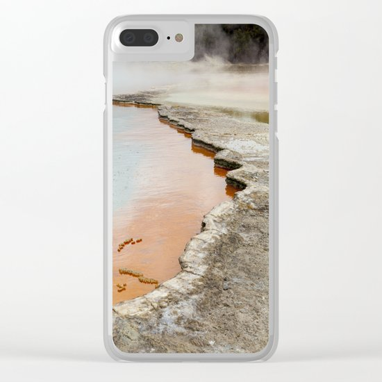 Champagne Pool Clear iPhone Case