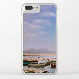 Peaceful view Clear iPhone Case