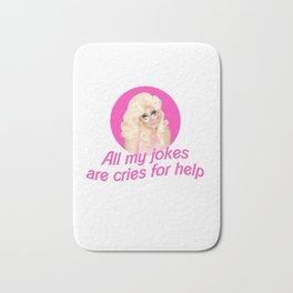 Trixie Mattel Jokes Bath Mat