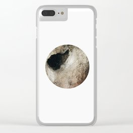 Golden circle Clear iPhone Case
