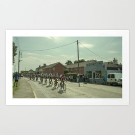 Tour de Willand Art Print