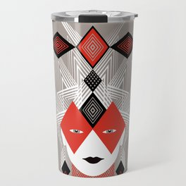 The Queen of diamonds Travel Mug
