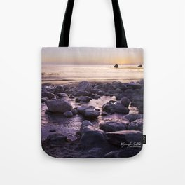 Rocky Sunset Tote Bag