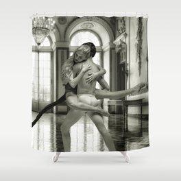 Romance Dance Shower Curtain