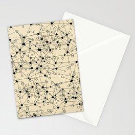 Stars sky map Stationery Cards