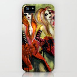 Twins 1 of 3 iPhone Case