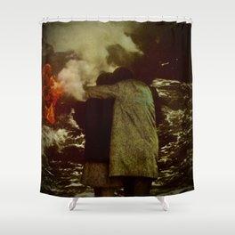 Io e Te Shower Curtain