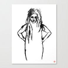 Girls That Lie No.1 Canvas Print