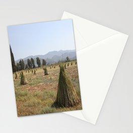 Sesame Crop and Harvest Stationery Cards