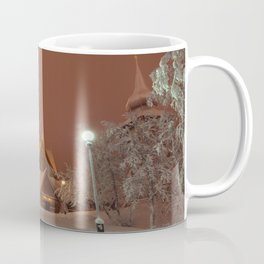 Kiruna Church In the Winter Snow Coffee Mug