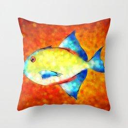 Esperimentoza - gorgeous fish Throw Pillow