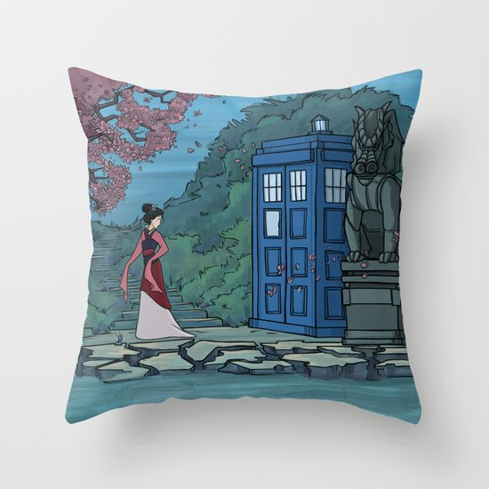 Cannot Hide Who I am Inside Throw Pillow