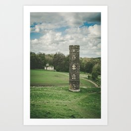 Cammo Tower Art Print
