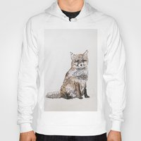 roald dahl Hoodies featuring Fox by Killerwinter