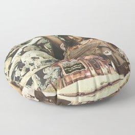 Notice is Hereby Given Floor Pillow