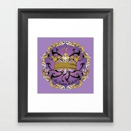 My Empire Collection Summer Set Purple Crown Framed Art Print