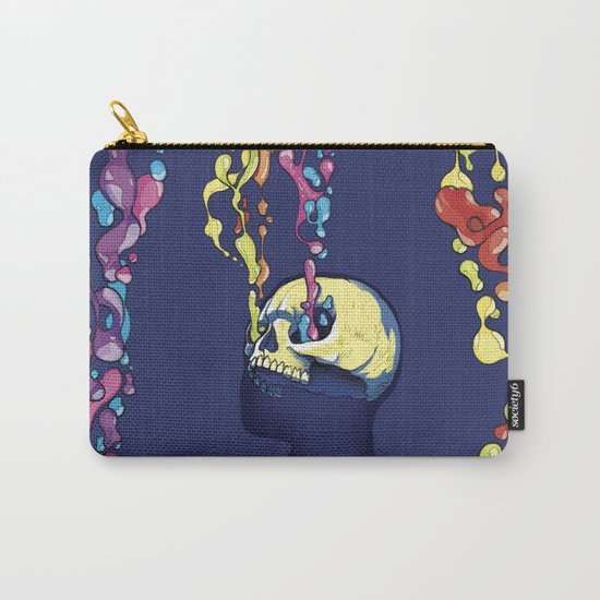 Skull Pepe Psyche Carry-All Pouch