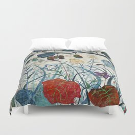 nature【Japanese painting】 Duvet Cover