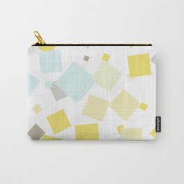 Pastel . Delicate yellow blue Carry-All Pouch