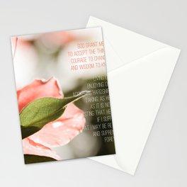 Serenity Prayer Stationery Cards