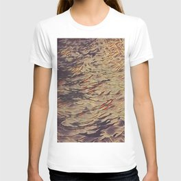 alone in the waves T-shirt