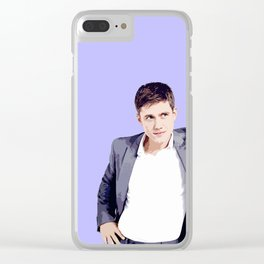 Aaron Tveit 21 Clear iPhone Case