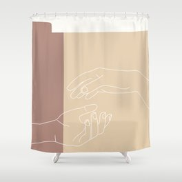 Let Go. Shower Curtain