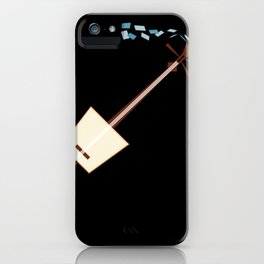 While My Shamisen Gently Weeps iPhone Case