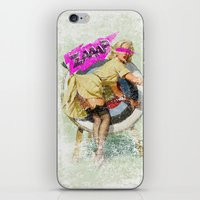 butt iPhone & iPod Skins featuring Lucky Butt by melted