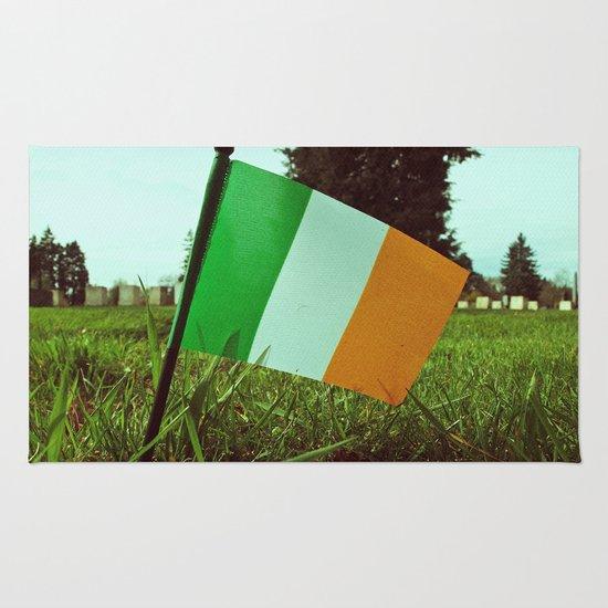 Cemetery tricolor Rug