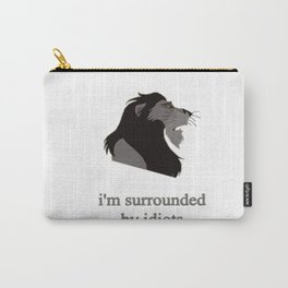 scar surrounded by idiots Carry-All Pouch