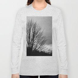 Deadly monochromatic tree Long Sleeve T-shirt