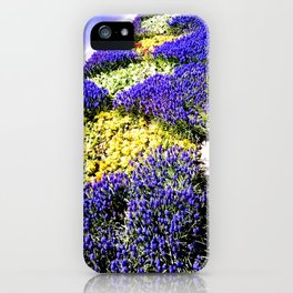 Intense purple. iPhone Case