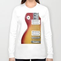 les mis Long Sleeve T-shirts featuring Les Paul by Brian Raggatt