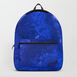 Dark Blue Agate Backpack