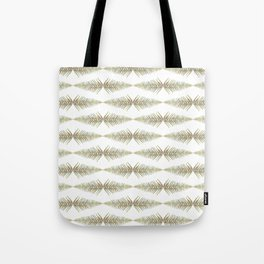 Watercolor Fern Pattern 2 Tote Bag