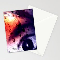 Rain...not a nice day. Stationery Cards
