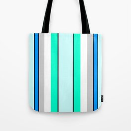Aquafresh Curtains Tote Bag
